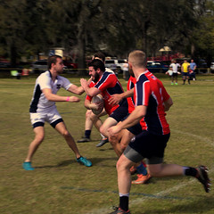 Georgia Southern University Exiles v. North Shore (Mike McCall) Tags: copyright2018mikemccall photography photo image georgia usa culture southern america thesouth unitedstates northamerica south stpatricksdayrugbytournament stpatrick day rugby tournament game sport sports field pitch football savannah chatham county documentary editorial people match rugger 2018 daffin park athletics athlete club rfc university exiles north shore northshore georgiasouthern gsu eagles