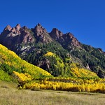 Autumn Colors Across and Over Jagged Peaks of Sievers Mountain South thumbnail