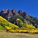 Autumn Colors Across and Over Jagged Peaks of Sievers Mountain South