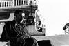 Tuning Out... (Jetlag & A Camera Bag) Tags: dubai ilford hp5 35mm analog nikon f100 nikkor travelphotography streetphotography blackwhite film
