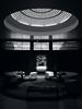 Art Deco Entrance (Ian Smith (Studio72)) Tags: rx100 sonyrx100 sony uk england london eltham elthampalace englishheritage artdeco architecture entrance light shadows bw bnw nb blackandwhite mono monochrome windows naturallight interior furniture studio72