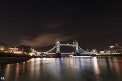 The Tower Bridge (Londres) (albertoleiras) Tags: tower bridge london londres nocturna panorámica torre puente de la canon 6d 1740f4l