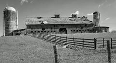 Dairy-BW (Bob G. Bell) Tags: dairy creamery farm pencesprings bobbell fujifilm xt1 bw wv westvirginia