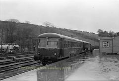 BANTRY railcar possibly 2613 ca 1956 img287 (Ernies Railway Archive) Tags: bantrystation corkbandonsouthcoastrailway cbscr gsr cie ir ie