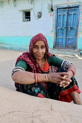A Bheel villager (Lazy Lizard) Tags: india portrait rajasthan traditionaldress