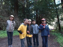 0796 Kids-1 (mliu92) Tags: purisimacreek redwood preserve halfmoonbay hiking cubscouts calcifer son figgy daughter