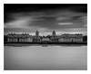 RN College (Robgreen13) Tags: london greenwich royalnavalcollege bw mono longexposure riverthames landscape