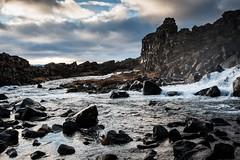 Islande, Thingvellir, 13 (Patrick.Raymond (4M views)) Tags: islande froid gel hiver neige glace cascade cercle dor hdr nikon