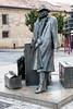 Traveling Man _3945 (hkoons) Tags: bayofbiscay westerneurope atlantic europe european iberia oviedo people spain spanish art artist artistic brass bronze coast coastal fish ocean port sculpture sea statue stone