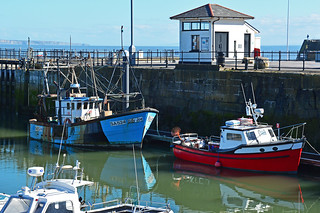 Fishing boats at Porthcawl