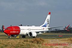 B737 MAX 8 EI-FYE NORWEGIAN (shanairpic) Tags: jetairliner shannon b737 boeing737 max norwegian irish eifye