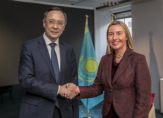 Federica Mogherini and the Foreign Affairs Council, February 2018