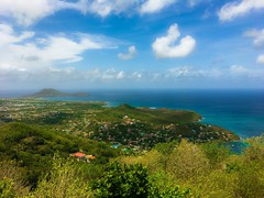 "The ""Million Dollar"" View (Mad Cow Imagery) Tags: detachedhouses villas mountain clouds trees tree tropical bay grass water landscape sky sea exotic paradise caribbeansea atlanticocean ocean travelphotography travel holiday westindies caribbeanislands caribbean stlucia panasonicdmcg7"