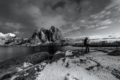 just taking pics (Alex Szymanek) Tags: photo photographer taking pictures pics shoot look moment watch minute february 2018 vacation time off grid water reflect distance imagine hypothetical come back delay be here now very far depth if you can say him middle center space canon lofoten islands noway there same filter simple next capture screen show always presence explain gigantic maybe because people read above we will see ice bw view get balance right looks like perfect occasion every attempt again