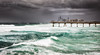 Wet and Wild (Beth Wode Photography) Tags: goldcoast surfersparadise thespit sandpumpingjetty jetty pier stormy weather tumultuous waves sea ocean wildweather beth wode bethwode