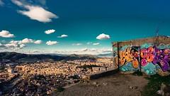 Barcelona, Spain (DiSorDerINaMirrOR) Tags: bunkersdelcarmel bunker barcelona spain espana streetstyle streetart streetphotography streetphoto urban skyporn skyline graffiti sonya6000 sonyalpha sony6000 sonyalpha6000 travel wanderlust view cityscape citylife discover