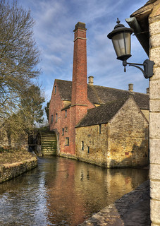 Old watermill at Lower Slaughter, The Cotswolds