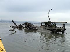 Wreckage On Suisun Shoal (thamiter) Tags: wreckage shoal suisunbay lowtide shotfromakayak