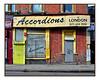 ACCORDIONS of LONDION (StockCarPete) Tags: shopfront accordionsoflondon kilburn london uk signage londonlettering brickwork pavement music musicshop instrumentshop tags londonphonecodes no92
