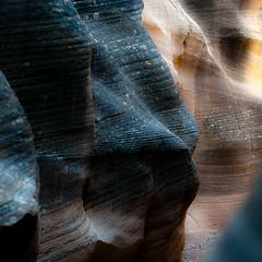 In Canyons 210 (noahbw) Tags: d5000 grandstaircaseescalantenationalmonument nikon utah williscreek abstract autumn canyon desert erosion glow landscape light natural noahbw rock slotcanyon square stone incanyons