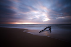 sunset (kuestenkind) Tags: nordsee sylt beach sunset northsea langzeitbelichtung longexposure