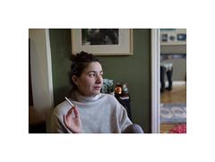 (giovdim) Tags: lena portrait giovis face woman smoking
