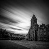 the black abbey (juhwie.foto - PROJECT: LEIDENSCHAFT-LICH-T) Tags: abbey monastry lochness scotland beautifulscotland schottland architecture clouds longexposure sky bnw blackandwhite blackwhite monochrome pentax pentaxart ricohimaging k1 legacylenses haida haidafilters