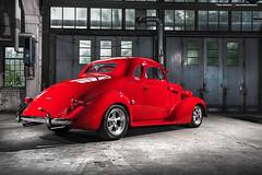 1937 Chevrolet Master De Luxe  - Shot 11 (Dejan Marinkovic Photography) Tags: 1937 american car chevrolet chevy classic coupe custom hot hotrod rod street strobist streedrod