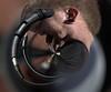 Twisted Art (Scott 97006) Tags: musician singer mic microphone performance twist distortion art vortex circular