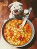 12.03.18: Soul food (Wang Wang 22) Tags: cute pug mops nici plüsch sweet hund dog wangwang