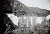 Ricoh R1 Matilija Dam Scissors 1 (▓▓▒▒░░) Tags: analog mechanical classic vintage retro film camera antique slr point shoot california socal design style history architecture environment dam removal river access restoration reservoir canyon graffiti art