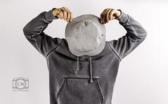 guess who (C. Novac) Tags: portrait portraits studiophotography studiolight flashlight grey canon 2470mm hat cnphotography