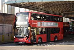 SL 13082 @ Canada Water bus station (ianjpoole) Tags: stagecoach london alexander dennis enviro 400mnc sl65oya 13082 working route 47 catford bus garage bellingham shoreditch church
