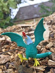 Cockatrice (JoeyDee83) Tags: mythical beast cockatrice mlp brony bronies vinyl toy geek mystery action figure nature dragon serpent