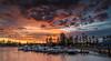 Stormy sunrise (dmunro100) Tags: sunrise dawn daybreak autumn cloud stormy amazing colour glenelg southaustralia canon eos 80d wideangle efs1018mmf4556isstm