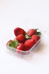 Strawberries (Мiuda) Tags: strawberry strawberries berry berries red white box basket macro canon delicious juicy fresh yummy tasty bright food foodphotography foodphoto blog blogger foodblog foodblogger fruits
