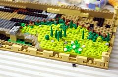 WIP Rural Landscape 1 (Emil Lidé) Tags: lego moc wip rural landscape field fence