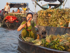 Cai Rang Floating Market (NoDurians) Tags: cantho mekongdelta vietnam mekong cairang floatingmarket market
