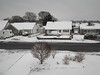 Snowy Morning in Dorset (Julian Chilvers) Tags: dorset building house roof town landscape uk ferndown snow