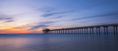 Scripps Pier Silhouette (Mike Ver Sprill - Milky Way Mike) Tags: scripps pier silhouette landscape seascape sunset sunrise water ocean beach la jolla san diego california travel west coast beautiful scenic