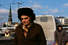 7/18 (Becky Frances) Tags: beckyfrances city candid colour colourstreetphotography canpubphoto documentary fuji fujifilm latvia lensblr light riga streetphotography socialdocumentary streetportrait urban 2018 winter