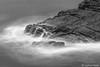 Dana Point - Lands End_B&W_5004 (www.karltonhuberphotography.com) Tags: 2015 blackandwhite california californiacoast danapoint flowingwater karltonhuber landsend ocean pacificocean rocks seafoam seascape silkywater southerncalifornia water