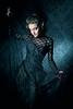 vampire woman (pipe notjustaphoto) Tags: black lace tulle tight corsett vampire