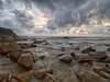 IMG_0040 ~ selamat pagi (alongbc) Tags: sunrise beach rocks cloud sea sky canon eos700d canoneos700d canonlens 10mm18mm wideangle telukcempedak kuantan visitpahang visitmalaysia travel place trip