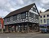 Market House, Ledbury (nerd.bird) Tags: market house ledbury herefordshire halftimbered tudor building architecture black white timber windows town pillars