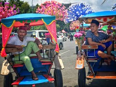 Friend or Foe ? Jakarta! (-Faisal Aljunied - !!) Tags: songkok streetphotography monas horsecarriage indonesia jakarta delman iphone7plus faisalaljunied