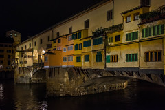 Ponte Vecchio at dawn 1-0415 (jdl1963) Tags: travel europe italy florence tuscanny firenze ponte vecchio bridge river arno dawn morning blue hour