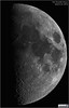 First Quarter Moon - March 24, 2018 (LeisurelyScientist.com) Tags: tomwildoner night sky space outerspace skywatcher telescope esprit 120mm apo refractor celestron cgemdx asi190mc zwo astronomy astronomer science canon crater moon lunar weatherly pennsylvania observatory darksideobservatory leisurelyscientist leisurelyscientistcom tdsobservatory solarsystem firstquarter march 2018