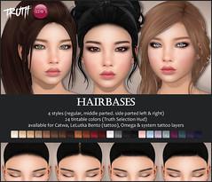 Truth / Izzie's Hairbases (Izzie Button (Izzie's)) Tags: truth izzies hairbase sl