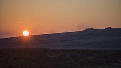 sunset and tor (HHH Honey) Tags: sonya7rii minimoonxviii devon landscape sunset dartmoor minolta minolta100200mm tor